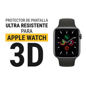 Sentete® 1x Apple Watch Series 5 44 3D CURVO Protector Pantalla ULTRA RESISTENTE