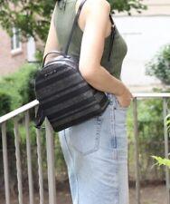 Kate Spade Haven Lane Black Silver Glitter Stripe Sammi Backpack NWT MSRP $189