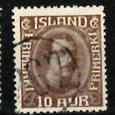 Iceland Number cancel #267 used in Braedratunga