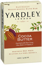 Yardley Naturally Moisturising Bath Bar 120g Cocoa Butter