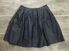 Lily White Skirt XS Faux Leather Black NWT J1865