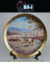 The Bradford Exchange 'Clancy Of The Overflow Plate' COA * RARE* (Aus Seller)