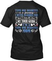 Easy-care Type 1 Diabetes Awareness - One Is A Journey Hanes Tagless Tee T-Shirt