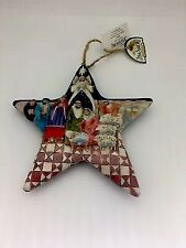 Vintage Jim Shore Heartwood Creek Nativity Scene Star Christmas Ornament