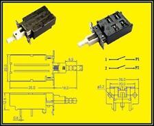 Panasonic Netzschalter Schalter Druckschalter 8A/250V ESB91232A 8A/250VAC 2Stück