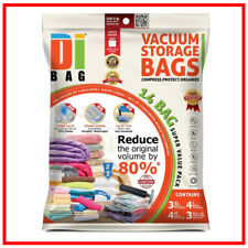 14 Space Saver Bag Vacuum Seal Storage Bags For Clothes Air Tight Sack Large XL