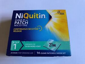 NIQUITIN CLEAR 21mg Patch - Step 1 X 14 Patches