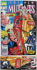 New Mutants #98 Signed Liefeld NEWSSTAND Variant 1st Deadpool KEY Issue X-Men!
