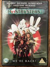 Bill Murray Dan Aykroyd GHOSTBUSTERS II / 2 ~ 1989 Comedy Horror Sequel UK DVD