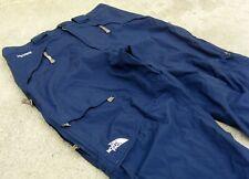 The North Face HyVent waterproof Snowboard ski rain Pants Men's Sz L 36 38 Blue