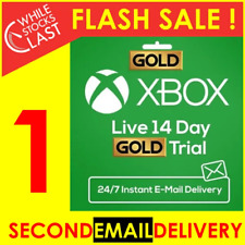 INSTANT XBOX LIVE 14 DAY GOLD & GAME PASS ULTIMATE TRIAL CODE XBOX ONE ONLY