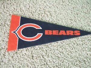 "NEW Chicago Bears NFL Football Pennant Mini 9"" Souvenir Felt Flag Montgomery"