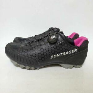 Bontrager Women 7.5 Rovv Mountain Cycling Shoes Black 517692 Boa Low Top