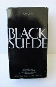 Avon Black Suede Men's Eau de Cologne Spray 3.4oz Fragrance for Him