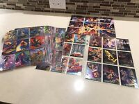 1994 Fleer Ultra X-Men Mini Master Set Base Portrait Fatal Attractions Battles