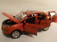 Ford EcoSport - Orange, 1/18 Scale - Paudi Diecast Model Car