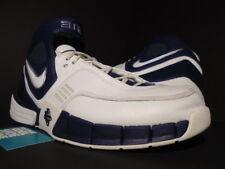 2006 NIKE ZOOM AIR HUARACHE ELITE TB WHITE NAVY BLUE CHROME 2K5 314183-114 11