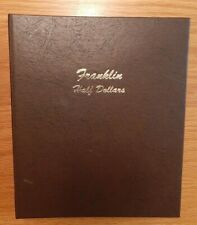 DANSCO Coin Album  FRANKLIN HALF DOLLARS  used