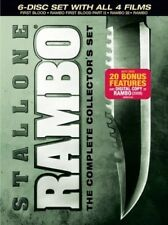 Rambo Complete Collectors Set [New DVD] Gift Set, Subtitled, Widescreen, Ac-3/