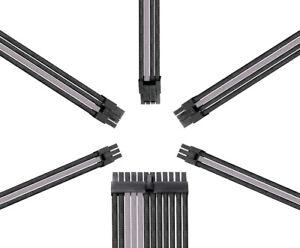 Reaper Kabel-Netzteil Erweiterungssatz-PSU Erweiterungen-carbon/grau