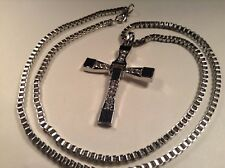 Superbe Croix avec Chaine Pour Homme - Rapide et dangeureux Dominic Toretto