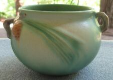 Roseville Art Pottery Green Pinecone 3 Inch Jardiniere Planter 632-3 Excellent