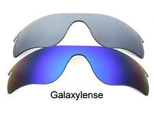 Galaxis Ersatzgläser für Oakley Radarlock Path Sonnenbrille Blau & Titan