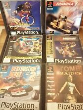 6 PlayStation (PS1) Games Bundle - All Complete
