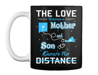 The Love Between A Mother And Son Knows No Distance. New Mexico Gift Coffee Mug