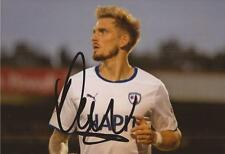 CHESTERFIELD: DANIEL JONES SIGNED 6x4 ACTION PHOTO+COA