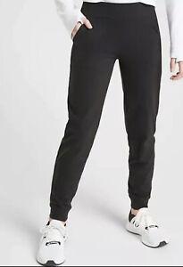 ATHLETA Girl NWT Powervita Jogger Size XXL/16 Black #521694