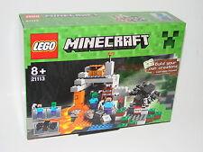 Lego ® 21113 Minecraft ™® la cueva nuevo embalaje original _ the cave New misb NRFB
