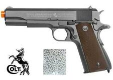 FULL METAL LICENSED COLT 1911 CO2 BLOWBACK AIRSOFT PISTOL WITH 625 .20 BB COMBO