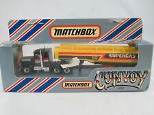 Matchbox convoy Peterbilt petrol tanker Supergas