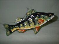 Fish Decoy Hand Carved  Perch    Ken  Szafasz