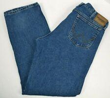 Wrangler Rugged Wear Men's Straight Leg Blue Jeans 36x32