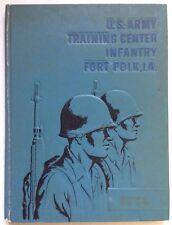 1964 U.S. ARMY BASIC SCHOOL YEARBOOK, CO. M, 1st BRG., 3D BN, FORT POLK, LA