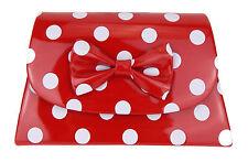 Tasche rot weiß Punkte Rockabilly Ella Jonte kleine Handtasche gepunktet Retro