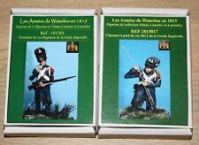 Waterloo-1815-PS6-Vieille Garde Grenadier et Chasseur pendant la campagne 1815