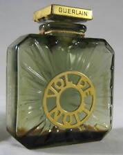 """Vintage Guerlain Paris """"VOL DE NUIT"""" 1 FL OZ Perfume Bottle 1930s"""
