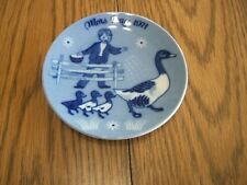 mothers day plate 1971 from norway second edition mors dag collector plate ducks