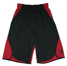 Air Jordan Mens Dri-Fit Flight Victory Basketball Shorts Black/Red/Grey/Navy New