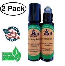 Rich Hemp Oil Roll On ~ Heated ~ Muscle Joint Arthritis Pain Relief (2 Pack)