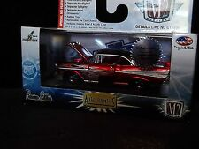 M2 1957 Chevy Bel Air Super Chase Hobby Candy Apple Red 1 of 108 1/64 Diecast