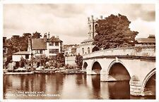 BR74666 the bridge and angel hotel henley on thames real photo   uk