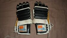 Vintage Sports Expert All Star 7503 Black Adult Hockey Gloves