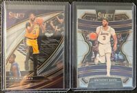 2019-20 Anthony Davis Select Courtside #230 First Year Los Angeles Lakers SP +