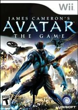 WII - James Cameron's AVATAR - The Game - (Nintendo) - Complete - Very Good
