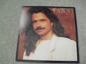 Original 1990s 12x12 Album Double Sided Promo Poster Yanni Dare to Dream