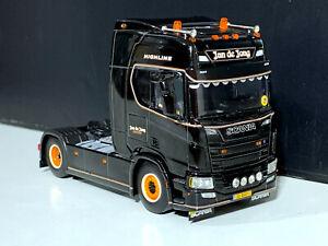 """Scania R highline CR20H """"Jan de Jong"""" WSI truck models 01-3072"""